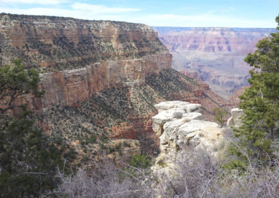 The Grand Canyon is amazing.